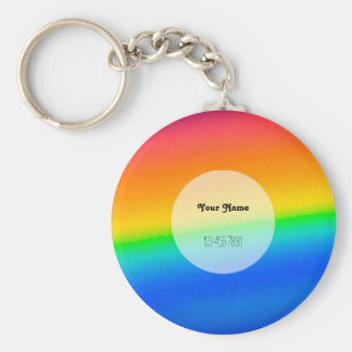 Colorful Rainbow Key Ring