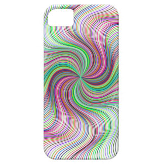 Colorful Rainbow Prism swirl wheel Case For The iPhone 5