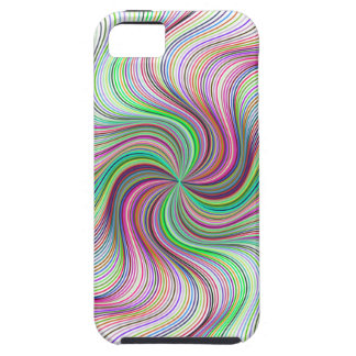 Colorful Rainbow Prism swirl wheel iPhone 5 Cases