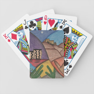 Colorful Rainbow Southwest Desert Playing Cards