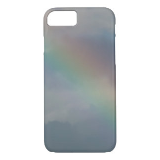 Colorful Rainbow stripe in the sky iPhone 8/7 Case