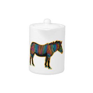 Colorful Rainbow Zebra