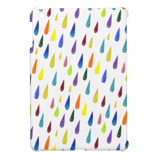 Colorful Rainy Day Pattern Cover For The iPad Mini
