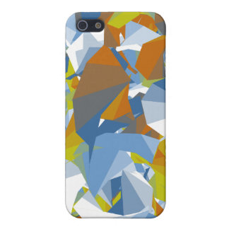Colorful Random Shape Design Case For iPhone 5