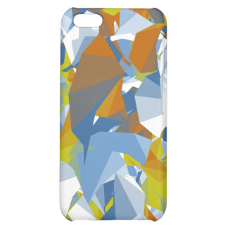 Colorful Random Shape Design Case For iPhone 5C