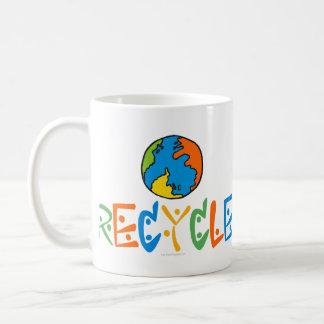 Colorful Recycling Coffee Mug