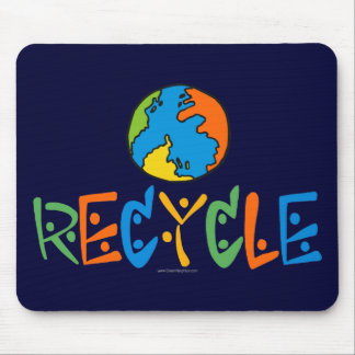 Colorful Recycling Mouse Pad