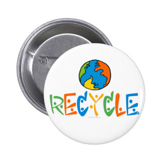 Colorful Recycling Pins