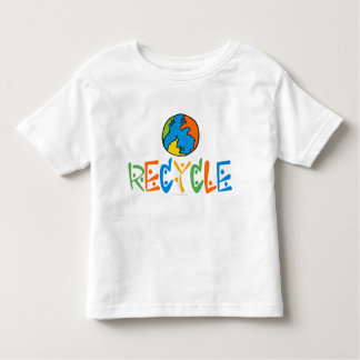 Colorful Recycling Toddler T-Shirt