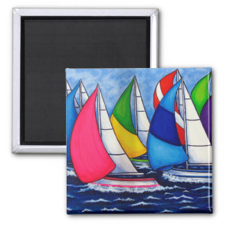 Colorful Regatta Magnets