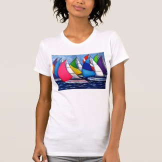 Colorful Regatta Women's T-shirt