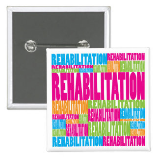 Colorful Rehabilitation Button
