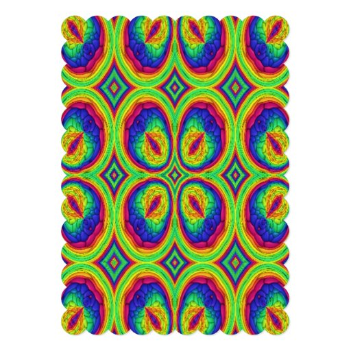 Colorful repeating stylish pattern invites