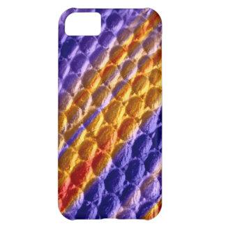 Colorful retro art graphic design iPhone 5C case