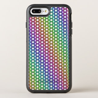 Colorful retro circles OtterBox symmetry iPhone 7 plus case