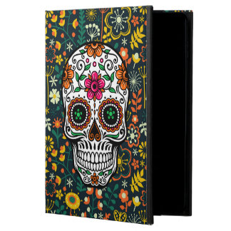 Colorful Retro Floral Sugar Skull Powis iPad Air 2 Case