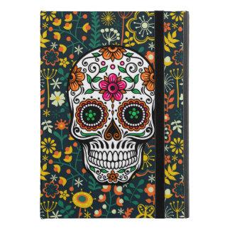 "Colorful Retro Flowers & Sugar Skull iPad Pro 9.7"" Case"