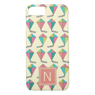 Colorful Retro Kite Pattern iPhone 8/7 Case