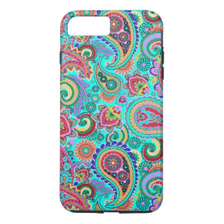 Colorful Retro Paisley 2a iPhone 7 Plus Case
