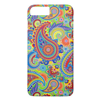Colorful Retro Paisley Pattern iPhone 8 Plus/7 Plus Case