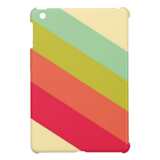 Colorful Retro Stripes iPad Mini Cover