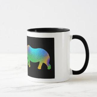Colorful Rhino mug