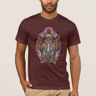 Colorful Rhinoceros T-Shirt