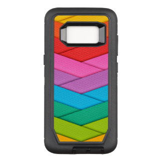 Colorful Ribbon Pattern OtterBox Defender Samsung Galaxy S8 Case