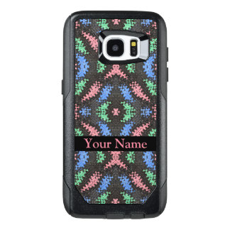 Colorful Ribbons on Black OtterBox Samsung Galaxy S7 Edge Case
