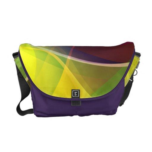 Colorful Rickshaw Medium Zero Messenger Bag
