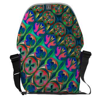 Colorful Rickshaw Messenger Bag