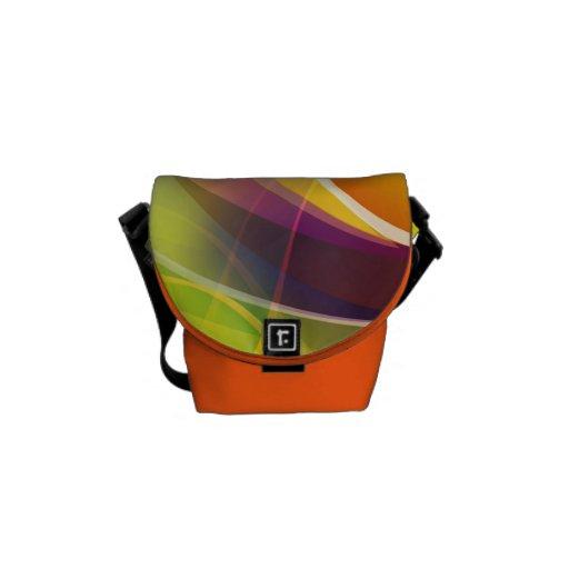 Colorful Rickshaw Mini Zero Messenger Bag