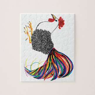 Colorful Rooster Puzzle