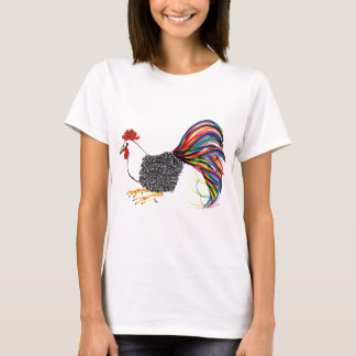 Colorful Rooster T-Shirt