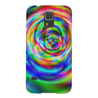 Colorful rose galaxy s5 covers