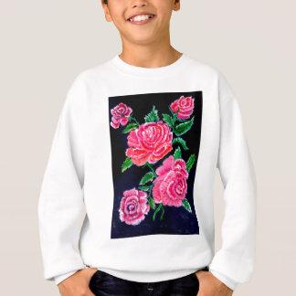Colorful Rose Flowers Sweatshirt