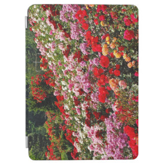 Colorful rose garden iPad air cover