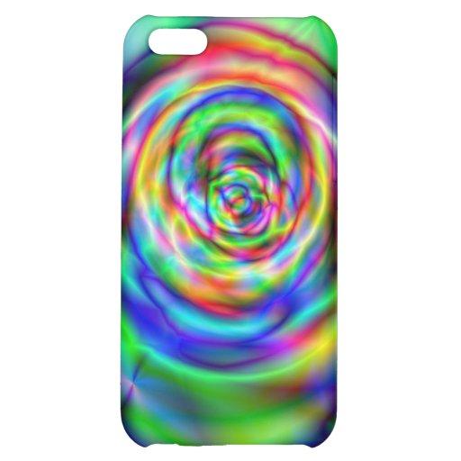 Colorful rose iPhone 5C cases