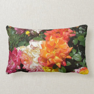 Colorful Roses Throw Cushion