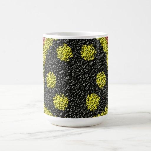 Colorful rough texture mug