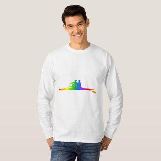 Colorful Rowing Rainbow Long Sleeve T-Shirt