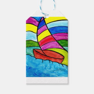 Colorful Sail Gift Tags