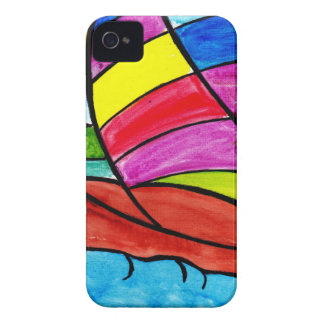 Colorful Sail iPhone 4 Case-Mate Case