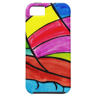 Colorful Sail iPhone 5 Cover