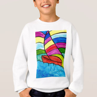 Colorful Sail Sweatshirt