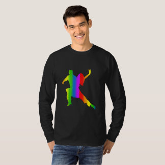 Colorful Salsa Rainbow Long Sleeve T-Shirt