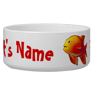 Colorful Saltwater Creatures Pet Food Bowls