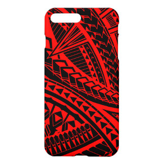 Colorful Samoan tattoo pattern iPhone 8 Plus/7 Plus Case