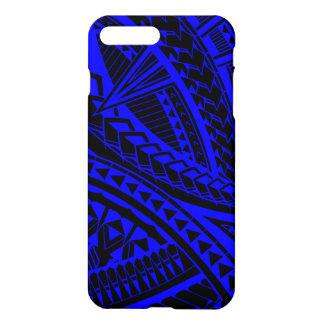 Colorful Samoan tattoo pattern iPhone 8 Plus/7 Plus Case