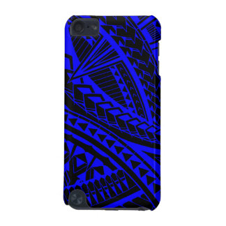 Colorful Samoan tattoo pattern iPod Touch (5th Generation) Cover